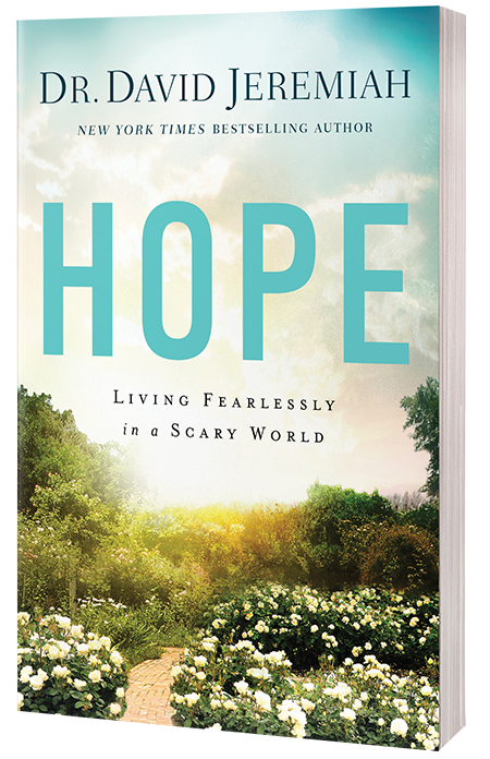 Hope - Living Fearlessly in a Scary World (softcover book)