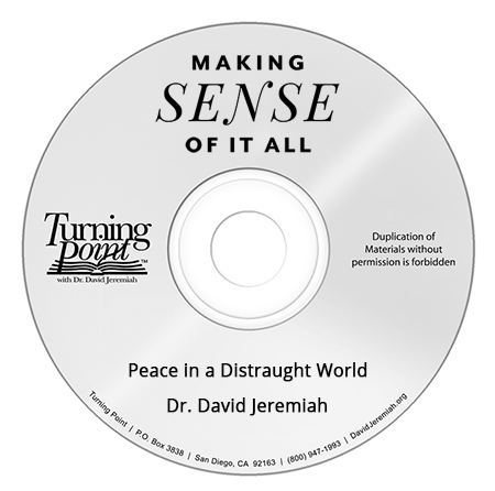 Peace in a Distraught World Image