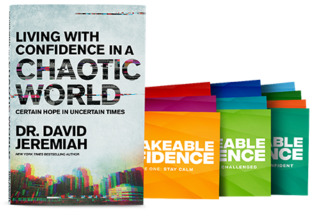 Living With Confidence in a Chaotic World (softcover book and cards)