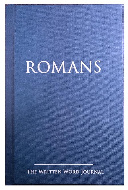The Written Word Journal (hardcover journal)