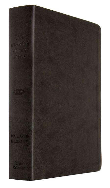 Jeremiah Study Bible NKJV - Leather Luxe: Black