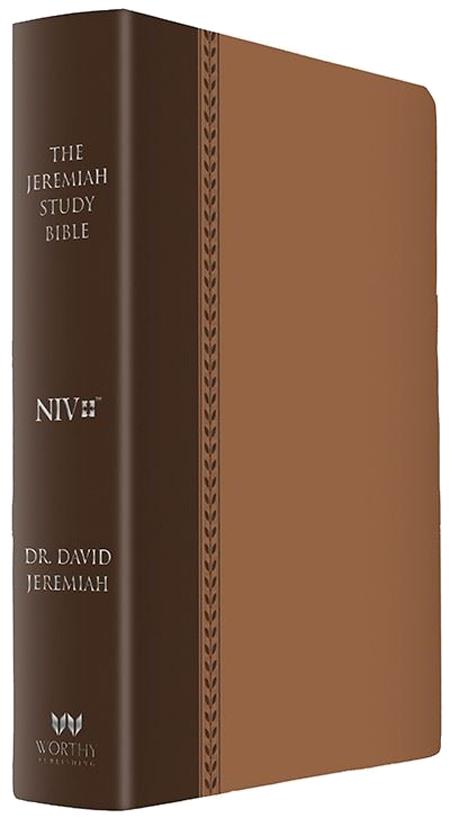 NIV Brown Luxe Jeremiah Study Bible