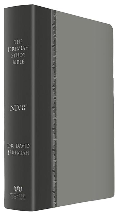 NIV Gray Luxe Jeremiah Study Bible