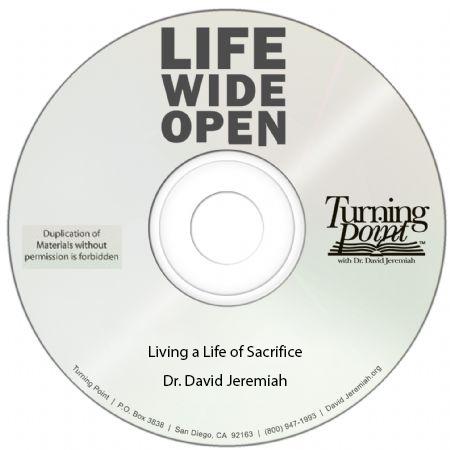 Living a Life of Sacrifice Image