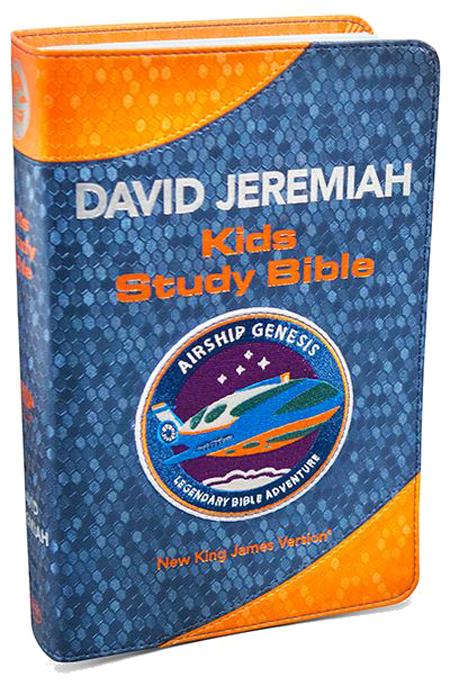 Airship Genesis: Kids Study Bible TechTile Leather Image