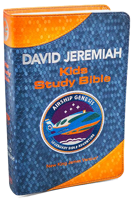 Airship Genesis: Kids Study Bible TechTile Leather