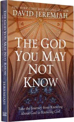 The God You May Not Know hardback book Image