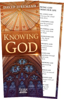 Knowing God Bookmark  Image