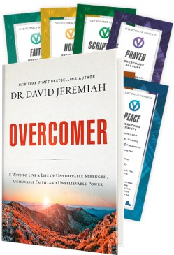 Overcomer Book with Super Eight Cards Image