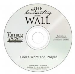 God's Word and Prayer Image