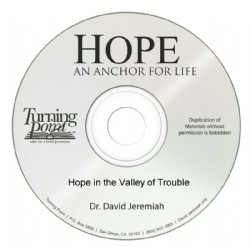 Hope in the Valley of Trouble Image