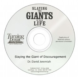 Slaying the Giant of Discouragement Image