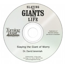 Slaying the Giant of Worry Image