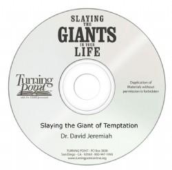 Slaying the Giant of Temptation Image