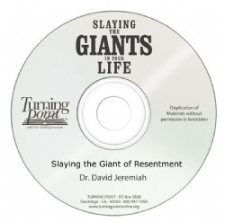 Slaying the Giant of Resentment Image