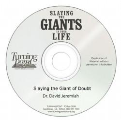 Slaying the Giant of Doubt Image