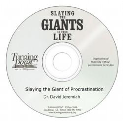 Slaying the Giant of Procrastination Image