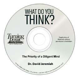 The Priority of a Diligent Mind Image