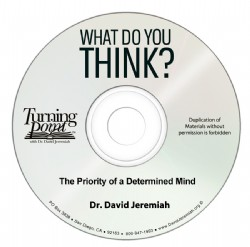 The Priority of a Determined Mind Image