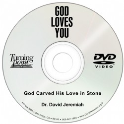 God Carved His Love in Stone Image