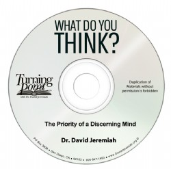 The Priority of a Discerning Mind Image
