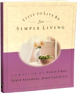 Lists to Live by for Simple Living Image