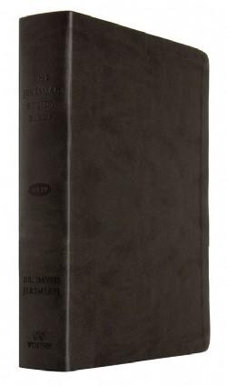Jeremiah Study Bible NKJV - Leather Luxe: Black Image