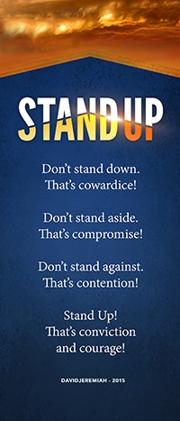 Stand Up Bookmark Image