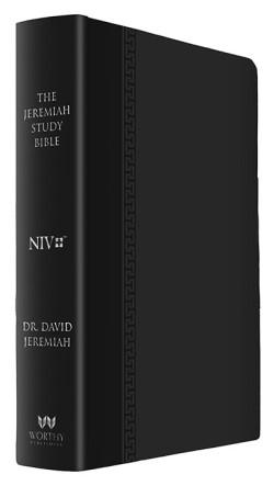 Jeremiah Study Bible NIV Large Print Black Luxe Image