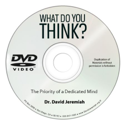 The Priority of a Dedicated Mind Image