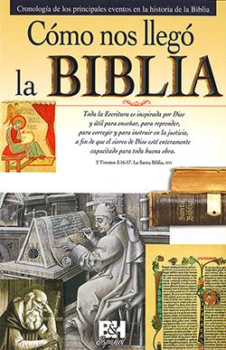 Cómo nos llegó la Biblia-Folleto. Image