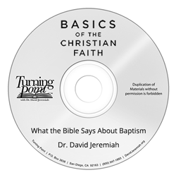 What the Bible Says About Baptism Image