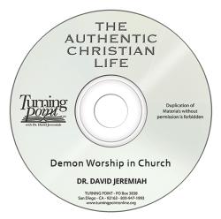Demon Worship in Church Image