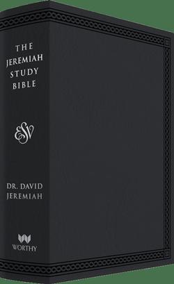 ESV Black Leather Luxe Jeremiah Study Bible  Image