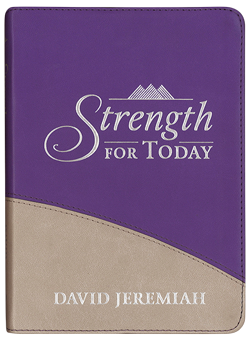 Strength for Today (Purple) Image
