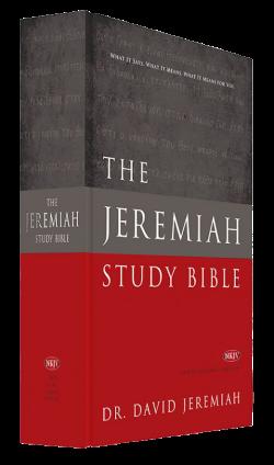 Jeremiah Study Bible NKJV - Hardback Image