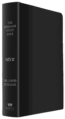 NIV Black Luxe Jeremiah Study Bible  Image