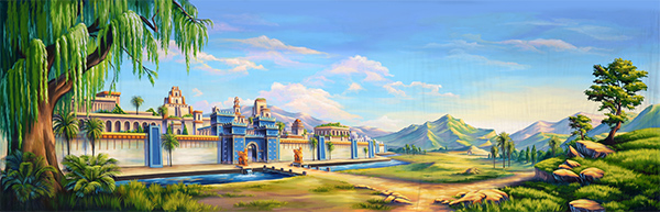 Painting of Ancient Babylon
