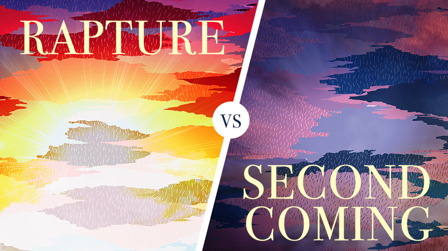 What is the Difference Between the Rapture and the Second Coming?