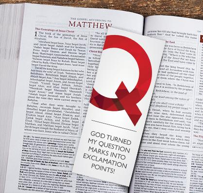 Ten Questions Bookmark