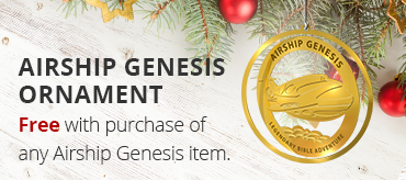 Airship Genesis Ornament - Free with purchase of any Airship Genesis item.
