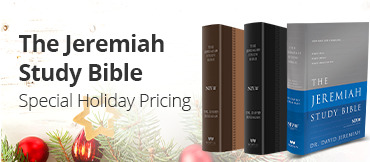Jeremiah Study Bible - Special Holiday Pricing