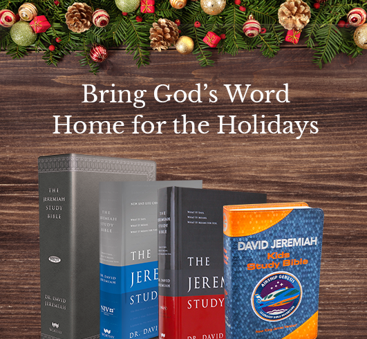 Bring God's Word Home for the Holidays