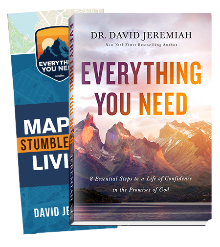 Everything You Need (Hardcover book and map)