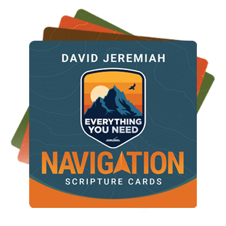 Everything You Need Navigation Scripture Cards