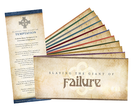 Giant Slayer Scripture Cards