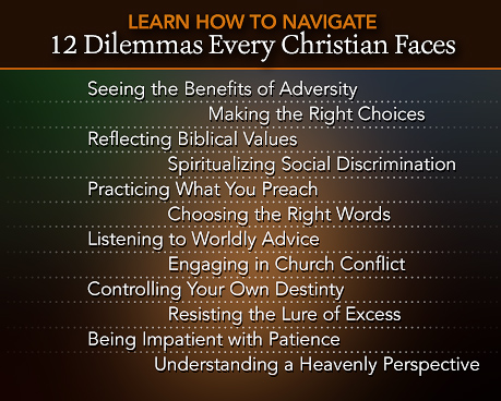 12 Dilemmas Every Christian Faces - Click to Download