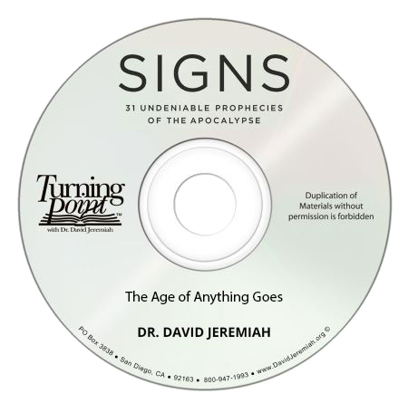 The Age of Anything Goes (CD Message)