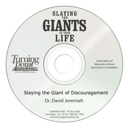 Slaying the Giant of Discouragement (CD Message)
