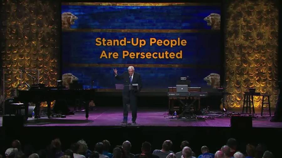 Stand Up People Get Persecuted